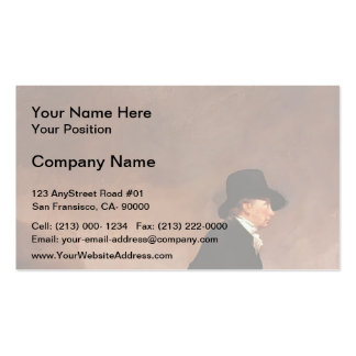 Henry Raeburn- The Skating Minister Business Card Templates