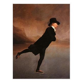 Henry Raeburn- The Skating Minister Postcard