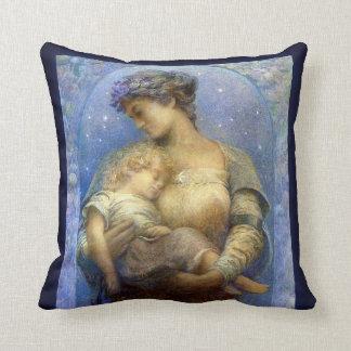 Henry Raymond Thompson: O Holy Night Throw Pillow