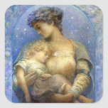 Henry Raymond Thompson: O Holy Night Square Stickers