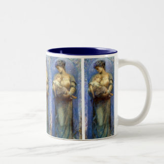 Henry Raymond Thompson: O Holy Night Two-Tone Coffee Mug