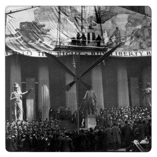 Henry Reuterdahl (Lieut. Imagen _War de U.S.N.R.) Reloj Cuadrado