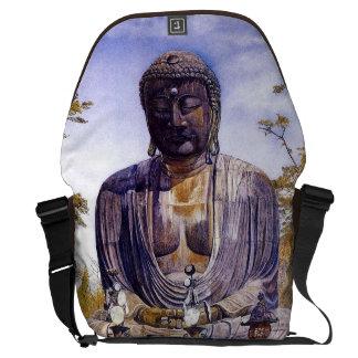 Henry Roderick Newman: Daibutsu at Kamakura, Japa Messenger Bags