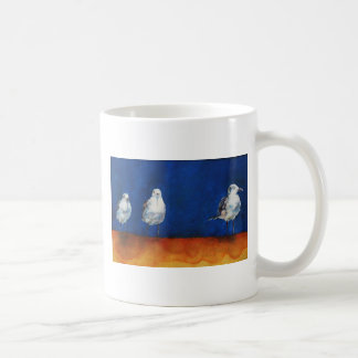 Henry & Seagulls by Janet Means Belich Coffee Mug