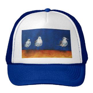 Henry & Seagulls by Janet Means Belich Trucker Hat