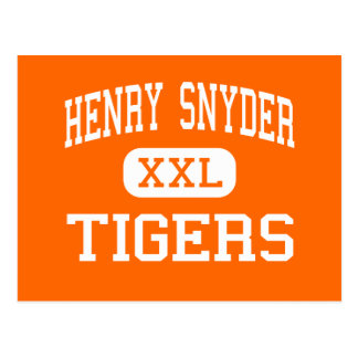 Henry Snyder - Tigers - High - Jersey City Post Card