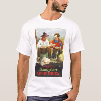 Henry Starr A Debtor to the Law 1919 movie poster T-Shirt