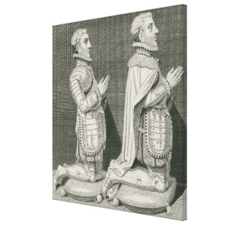 Henry Stuart, Lord Darnley and his brother Canvas Print