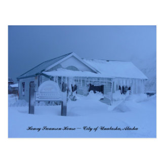 Henry Swanson House in Winter Post Cards