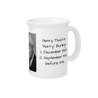 "Henry Thacker ""Harry"" Burleigh Drink Pitcher"