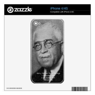"Henry Thacker ""Harry"" Burleigh iPhone 4 Skin"