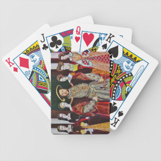Henry The Eighth and His Six Wives Bicycle Playing Cards