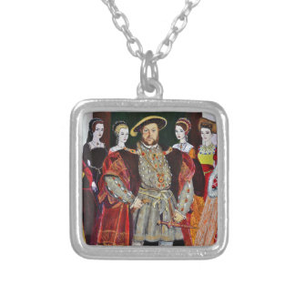 Henry The Eighth and His Six Wives Pendant