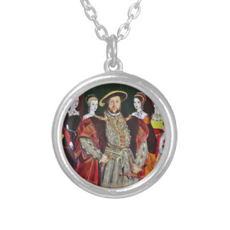 Henry The Eighth and His Six Wives Pendants