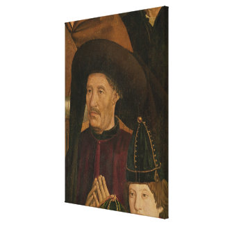 Henry the Navigator  detail from the Polyptych Canvas Print