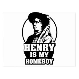 Henry The Navigator is my homeboy Postcard