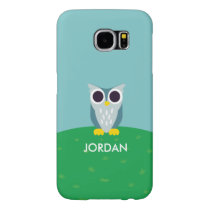 Henry the Owl Samsung Galaxy S6 Case