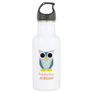 Henry the Owl Stainless Steel Water Bottle