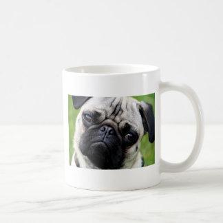henry the Pug Classic White Coffee Mug