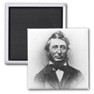 Henry Thoreau 2 Inch Square Magnet