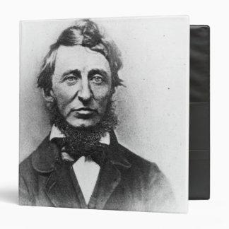 """Henry Thoreau Carpeta 1 1/2"""""""