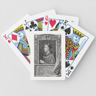 Henry V (1387-1422), after a painting in Kensingto Card Deck