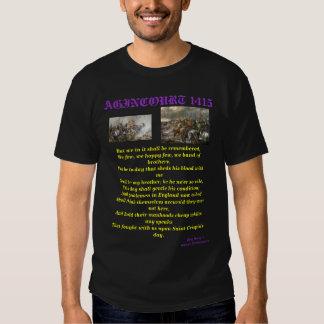 Henry V at the Battle of Agincourt T Shirt