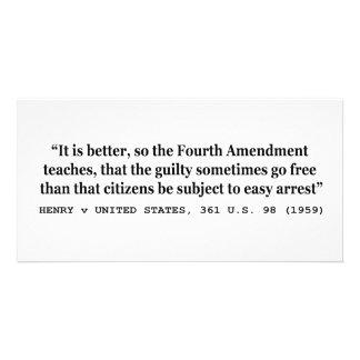 HENRY v UNITED STATES 361 US 98 1959 4th Amendment Card
