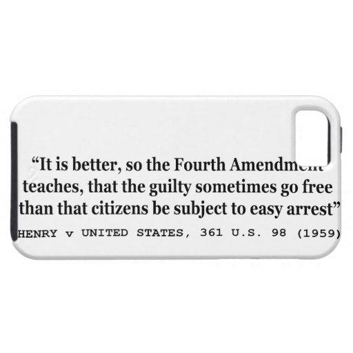 HENRY v UNITED STATES 361 US 98 1959 4th Amendment iPhone 5 Cases