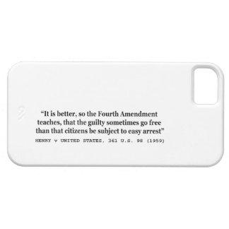 HENRY v UNITED STATES 361 US 98 1959 4th Amendment iPhone 5 Case