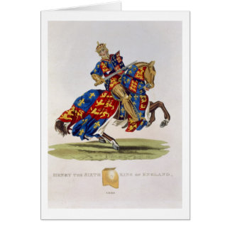 Henry VI, King of England (1421-71), 1422, from 'A Card