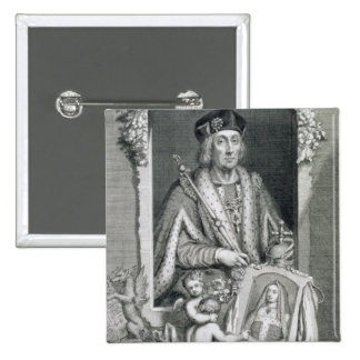 Henry VII (1457-1509) King of England from 1485, a Button