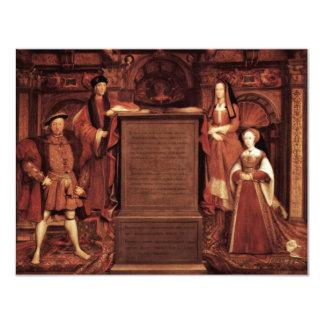 Henry Vii, Elizabeth de York, Enrique VIII y Jane Invitaciones Personales