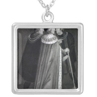 Henry VII Silver Plated Necklace