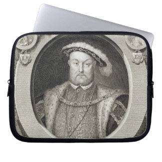 Henry VIII (1491-1547), after a painting in the Ro Laptop Sleeve
