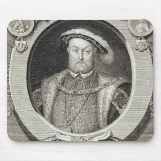 Henry VIII (1491-1547), after a painting in the Ro Mouse Pad