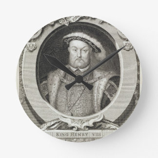 Henry VIII (1491-1547), after a painting in the Ro Round Clock