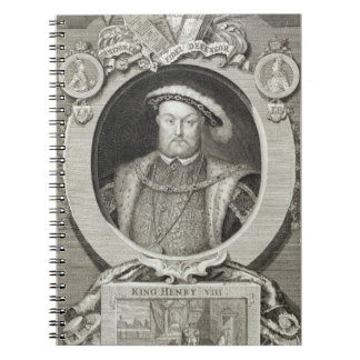 Henry VIII (1491-1547), after a painting in the Ro Spiral Notebook