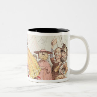 Henry VIII (1491-1547) and Francis I of France (14 Two-Tone Coffee Mug