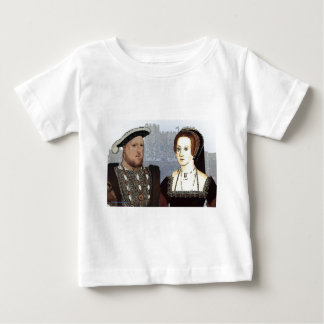 Henry VIII and Ann Boleyn Baby T-Shirt