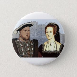 Henry VIII and Ann Boleyn Pinback Button