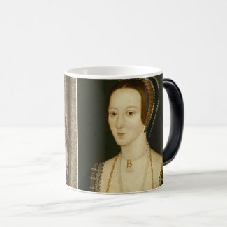 Henry VIII and Anne Boleyn 11 oz Morphing Mug