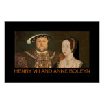 Henry VIII and Anne Boleyn 2 Poster