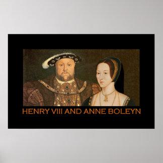 Henry VIII and Anne Boleyn 2 Poster