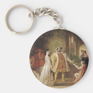 Henry VIII and Anne Boleyn Keychain