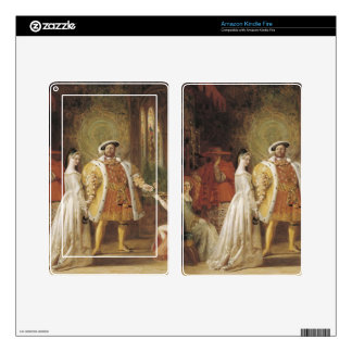 Henry VIII and Anne Boleyn Skin For Kindle Fire