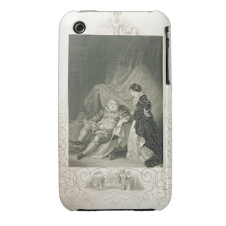 Henry VIII and Catherine Parr, in the play Henry V iPhone 3 Cases