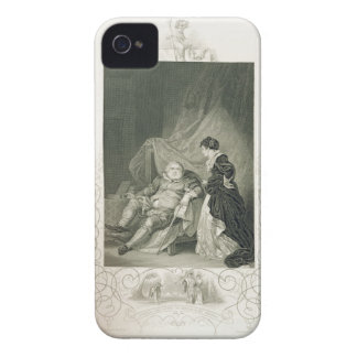 Henry VIII and Catherine Parr, in the play Henry V Case-Mate iPhone 4 Case