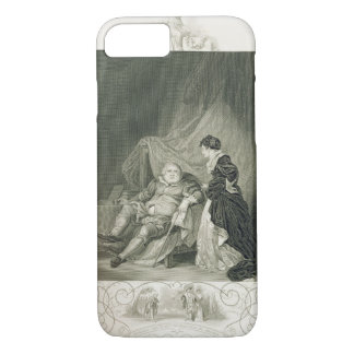 Henry VIII and Catherine Parr, in the play Henry V iPhone 8/7 Case