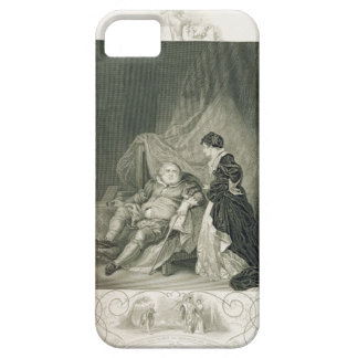 Henry VIII and Catherine Parr, in the play Henry V iPhone SE/5/5s Case